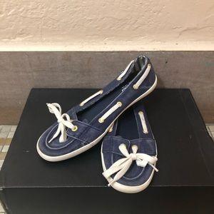 Keds Navy Blue Loafers Women's size 5.5